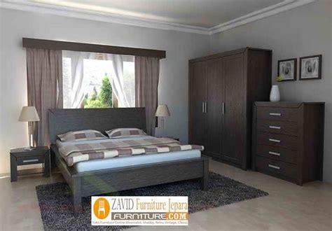 kamar set hpl set tempat tidur bahan hpl murah minimalis
