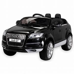 Voiture Electrique Enfant : audi q7 voiture lectrique enfant 12 volts noir avec ~ Nature-et-papiers.com Idées de Décoration