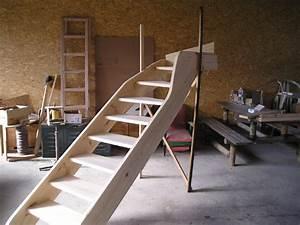 Escalier Quart Tournant Haut Droit : artisan de la nature pascal audrin menuisier ebeniste ~ Dailycaller-alerts.com Idées de Décoration