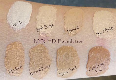 foundation nyx matte nyx hd studio photogenic foundation
