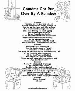 BlueBonkers Grandma Got Run Over By A Reindeer Free