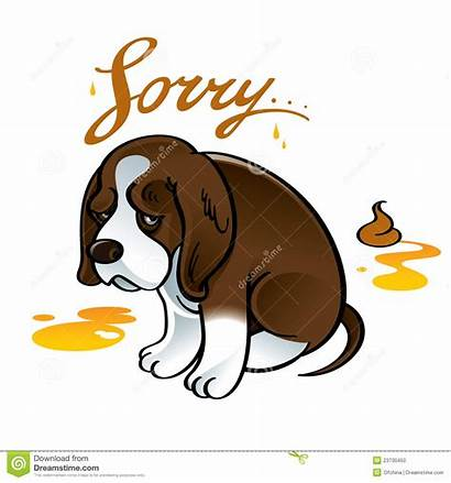 Shame Sorry Sad Dog Puppy Clipart Shit