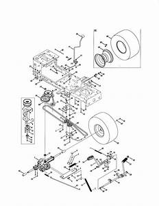 Craftsman Model 247288851 Lawn  Tractor Genuine Parts