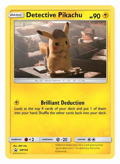Pikachu Detective Tcg Officially Revealed Pokemon Card