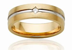 Diamond gold wedding rings for men ipunya for Wedding gold rings for men