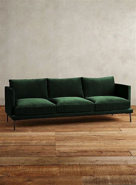 Green Sofa by A Guide To Green Sofas 20 Stylish Options Apartment Therapy