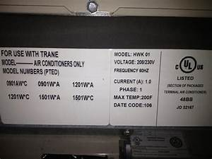 Nest Thermostat And Trane Ac    Heating Unit