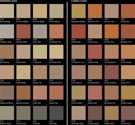 scofield color chart st color chart smith concrete st concrete
