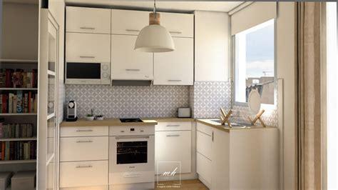 cloison pour cuisine aménagement studio à versailles mh deco