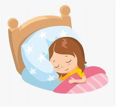 Sleeping Clipart Child Bed Clip Sleep Cartoon