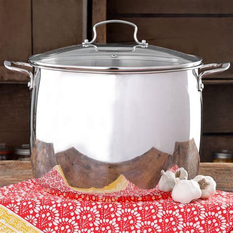 pioneer woman timeless beauty stainless steel copper bottom  quart stock pot walmartcom