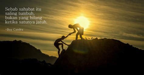 belajar menjadi sahabat  baik   quotes milik