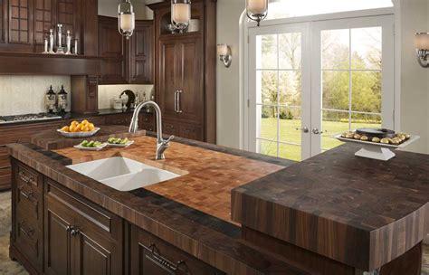 low cost countertop options diy butcher block countertops for stunning kitchen look