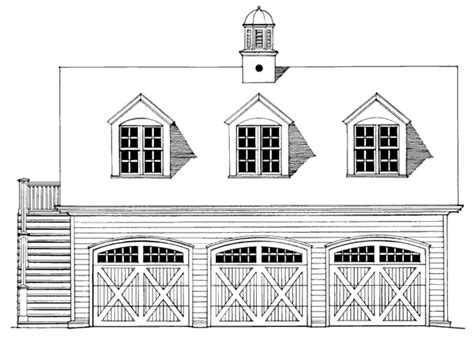Southern Living Garage Plans by Carriage House Hector Eduardo Contreras Southern