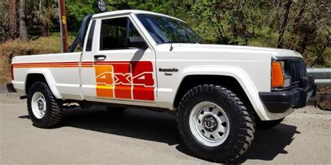 jeep comanche survivor    perfect