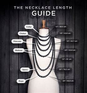 A Quick Guide To Choosing Your Necklace Length  U2013 Heartsabustin