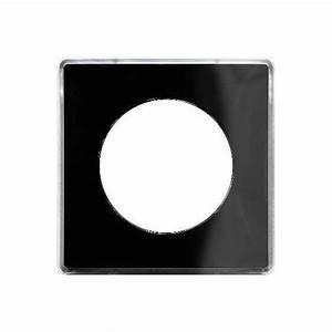 Plaque Schneider Odace : plaque you noir 1 poste schneider odace support blanc ~ Dallasstarsshop.com Idées de Décoration