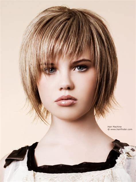razor cut bob hairstyle textured for a choppy effect