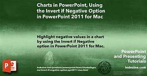 Charts In Powerpoint  Using The Invert If Negative Option