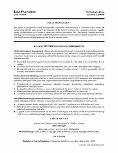 best photos of retail interview notes template thank you With district manager resume template