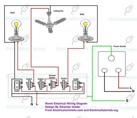 single phase house wiring diagram wiring diagram building