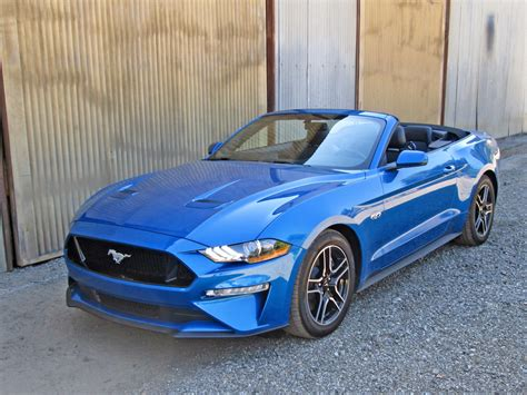 One Week With 2019 Ford Mustang Gt Convertible Premium