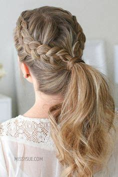 ponytail hairstyles images   ideas de