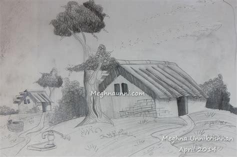 House Pencil Shading Drawings