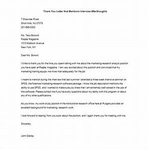 Marketing thank you letter 7 free sample example for Sample letter of recognition for teamwork