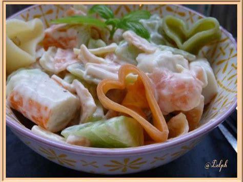 recettes de surimi et salade de p 226 tes