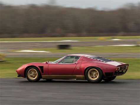 Lamborghini Miura Sv Jota Goes To Auction