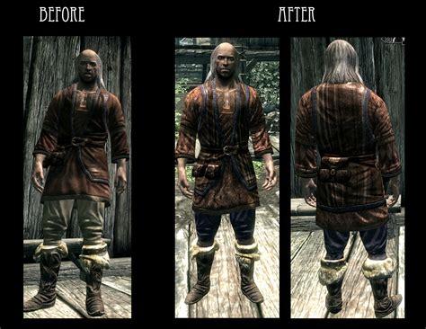 Elaborate Textiles Npc Clothing Retexture At Skyrim