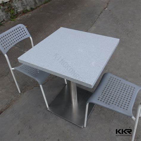 acrylic restaurant cafe bistro table and chair sets
