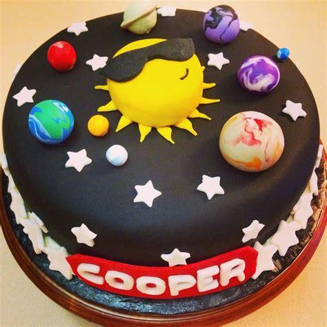 solar system cake ideas  pinterest rocket