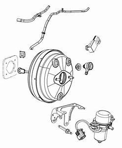 Dodge Journey Hose  Vacuum  Engine To Booster