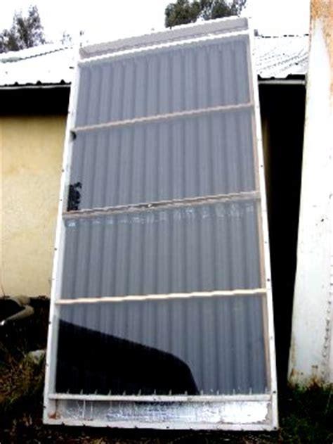 solar window heater