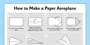 How To Make A Paper Aeroplane