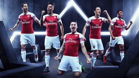 arsenal fc  puma home kit football fashionorg