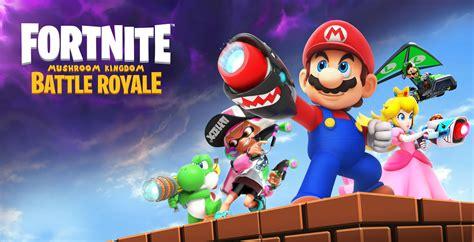 fortnite mushroom kingdom battle royale  coming