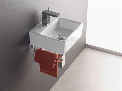Wandmontage Waschbecken Bermeo 4901 Inkl. Handtuchhalter
