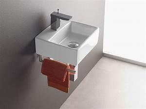 Handtuchhalter Für Gäste Wc : wandmontage waschbecken bermeo 4901 inkl handtuchhalter handwaschbecken waschtisch g ste wc ~ Frokenaadalensverden.com Haus und Dekorationen