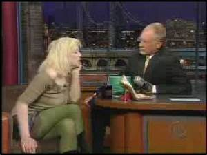 Courtney Love on 'the Letterman years': 'I did a lot of ...