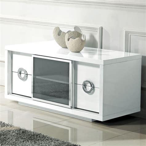repeindre un meuble laque blanc meuble tv haut blanc laque