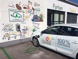 Ladestation Elektroauto öffentlich : unsere ladestation f r elektroautos maler daniel gmbh ~ Jslefanu.com Haus und Dekorationen