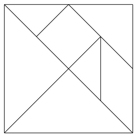 tangram template give your octopus a paintbrush or 8 january 2012