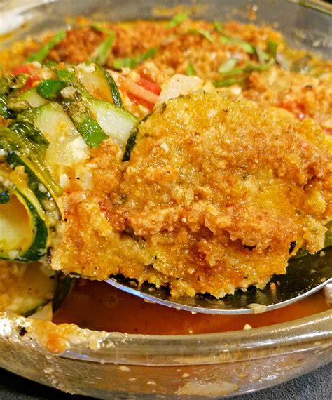 Zucchini Garden Vegetable Casserole With Crunchy Herb ...