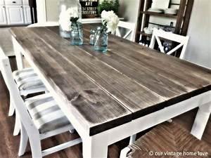 Best 25+ Farmhouse kitchen tables ideas on Pinterest Diy