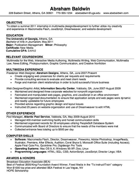 sles resume freelance web designer resumes design