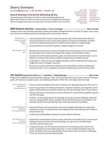 resume format marketing professional resume sles exles brightside resumes