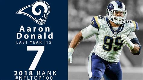 aaron donald dt rams top  players